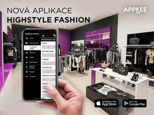 Mobilní Aplikace High Style Fashion