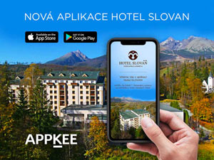 Mobilní Aplikace Hotel Slovan