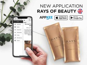 Mobilní Aplikace Rays of beauty