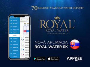 Mobilní Aplikace Royal Water
