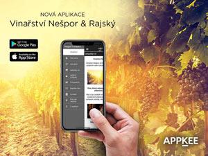 Mobilní Aplikace Vinařství Nešpor a Rajský